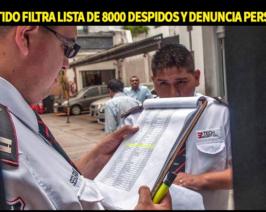 Un arrepentido del PRO revela plan de 8 mil despidos de Macri