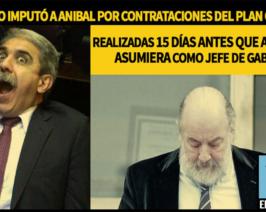 Bonadío imputó a Aníbal por contrataciones realizadas 15 días antes que asumiera!