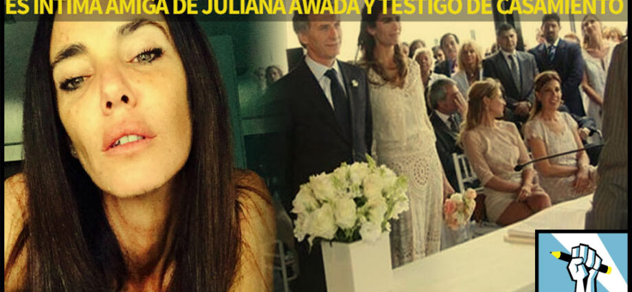 Marina Laurence amiga Juliana Awada - El Disenso