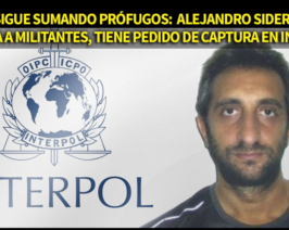 El PRO sigue sumando prófugos: Sidero con pedido de captura en Interpol