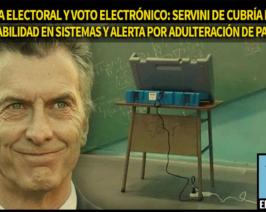 Reforma electoral y voto electrónico: Servini de Cubría detectó vulnerabilidades en sistemas informáticos y alerta sobre adulteración de padrones