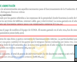 Borrando huellas: el balance 2014 desapareció de la web de SUMA