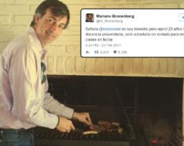 """Bullrich detrás del financiamiento del """"docente voluntario"""" y oficial de inteligencia Mariano Bronenberg"""