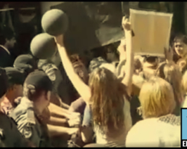 Macri en San Luis: censuró a la prensa y excluyó al gobernador pero igual fue escrachado