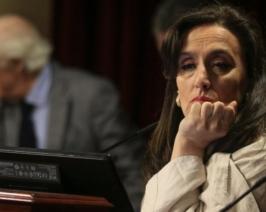 """Orgullosa de haber despedido a 1400 personas, Michetti pide que """"hagamos algo"""" para que su novio quiera convivir con ella"""