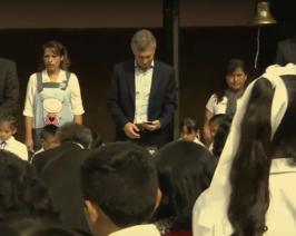 Desde Jujuy Macri inauguró un ciclo lectivo que no comenzó