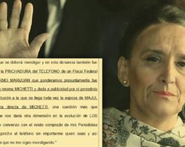Michetti sobreseída pero ahora investigada por las pinchaduras a Marijuán