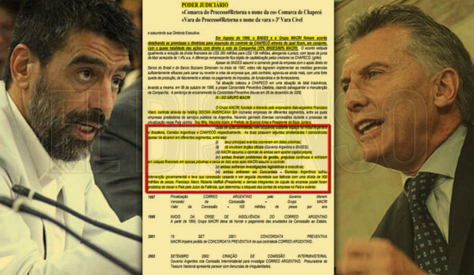 Para la justicia brasilera el Grupo Macri es un genocida empresarial - El Disenso