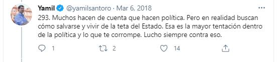 Aforismo 293 Yamil Santoro - El Disenso