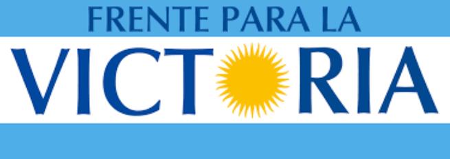 Logo Frente para la Victoria - El Disenso