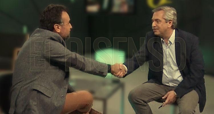 Roberto Navarro y Alberto Fernandez - OlivosGate - El Disenso