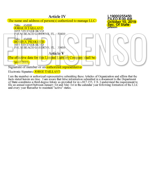 Nueva Offshore de Romina Picolotti - El Disenso
