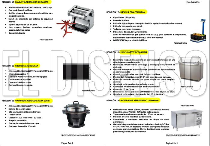 Equipamiento de cocina para Olivos - El Disenso